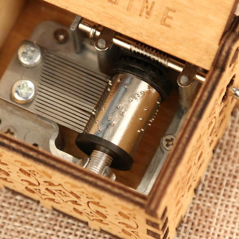 Venta al por mayor de madera Retro caja de música antigua manivela Musical caso a casa ornamento regalos de regalo de cumpleaños Lámpara de pared de cabecera antigua de estilo americano luces de sala de estar de una sola cabeza lámparas de bar de moda vintage