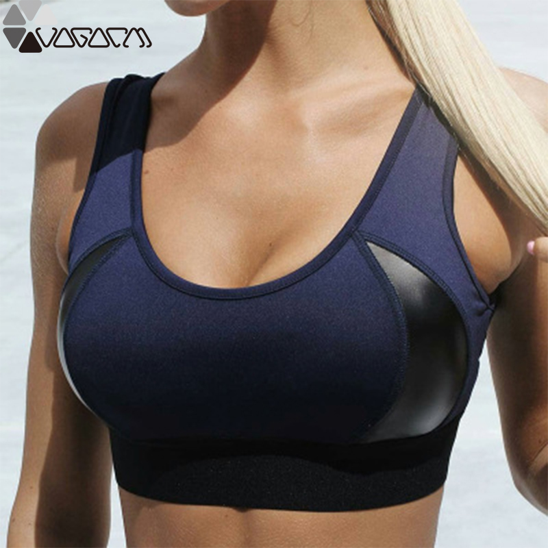 Active Women Sport Top No Steel Ring Bra Fitness Yoga Vest Running With Chest Pad Sports Underwear Female Running Mujer Clothes Sports Bras Aliexpress