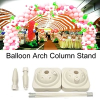 Balloon Arch Stand Base Pot Kit Clip Connector Adjustable Wedding Party Brithday Celebration Arches Support Display DIY Decor