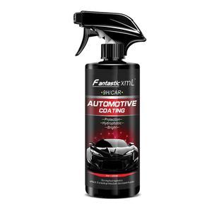 Image 3 - Liquid Ceramic Spray Coating Car Polish Spray Sealant Top Coat Quick Nano Coating 500ML Car Spray Wax Car Cleaning For Car