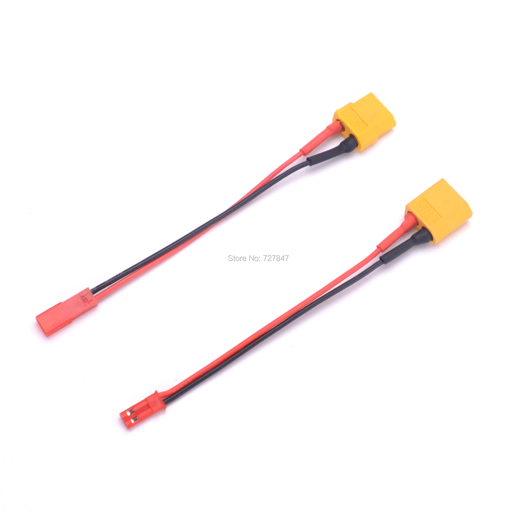 XT60 Male /  Female Connector To JST Plug Charger Adapter LiPo Battery Model Charging Adapter Converter Lead 22AWG