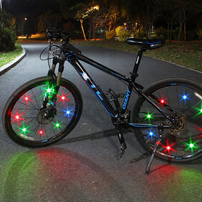 New High Quality Bicycle Spoke Lights Mountain Bike Wire Lamp Led Hot Wheels Decorative Lights Riding Equipment Accessories