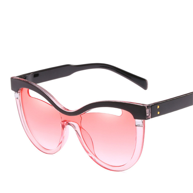 39c9bb0a5851f Brand Designer Cat Eye Sunglasses Women Men Fashion Hollow Out Clear Lens  Sun Glasses Vintage Cateye