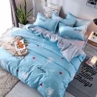 Home Textile Plant Dandelion Bed Linens 3/4pcs Bedding Sets Bed Set Duvet Cover Bed Sheet Pillowcase Bedclothes Twin Queen King