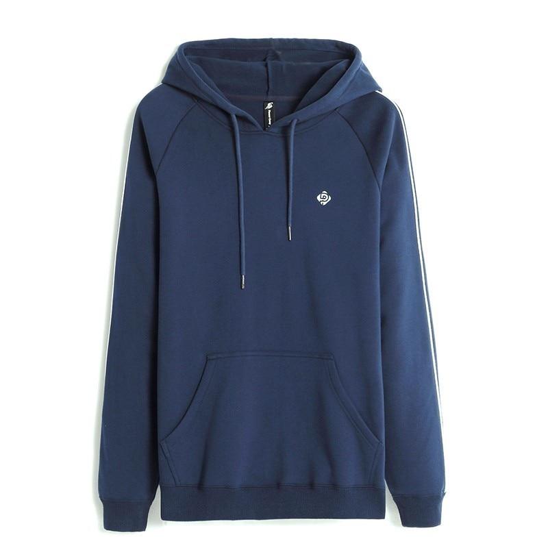 Pioneer Camp Thick Hooded Sweatshirts Men Brand-clothing Winter Fleece Warm Hoodies Male