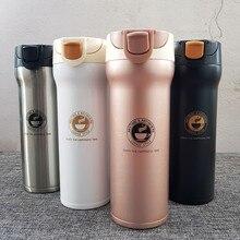Из нержавеющей стали thermocup термос чашки изолированы массажер термос garrafa termica Thermo кружках поездки бутылку кружка термокружка бутылка для воды термосы