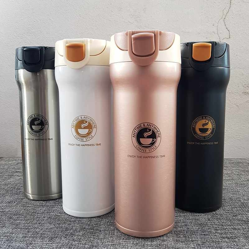 ce90b0e0914 Stainless Steel Thermos Cups Thermocup Insulated Tumbler Vacuum Flask  Garrafa Termica Thermo Coffee Mugs Travel Bottle Mug