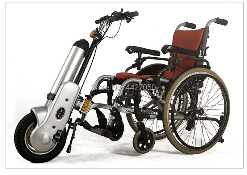 2019 free shipping 12 inch electric handbike drive front for manual sports wheelchair