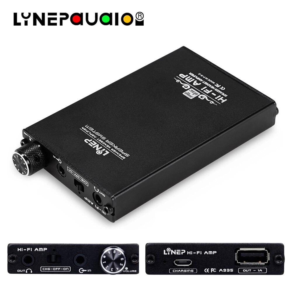Amplificateur pour écouteurs Portable amplificateur pour écouteurs Hi-Fi amateur OPA2604AP + OPA2107AP combinaison de puces intégrée batterie 1200mHA
