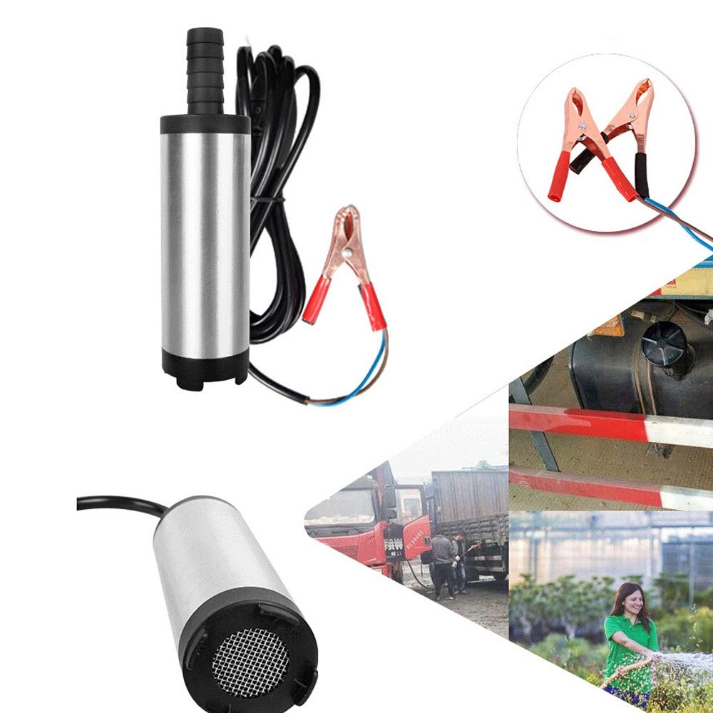Pumpen, Teile Und Zubehör WunderschöNen 38mm 12 V/24 V Dc Diesel Fuel Wasser Öl Auto Camping Pumpe Angeln Tauch Transfer Pumpe Pumpen