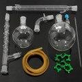 KICUTE 1000 ml Destillatieopstelling Lab Chemie Glaswerk Kit Set Chemie Lab Glas Distilleren Destillatieapparatuur 24/29