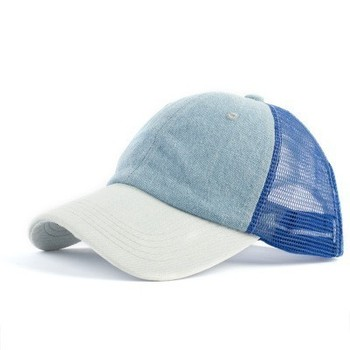 2019 Ponytail Baseball Cap Messy Bun Hats For Women Washed Cotton Snapback Caps Casual Summer Sun Visor Female Outdoor Sport Hat 4