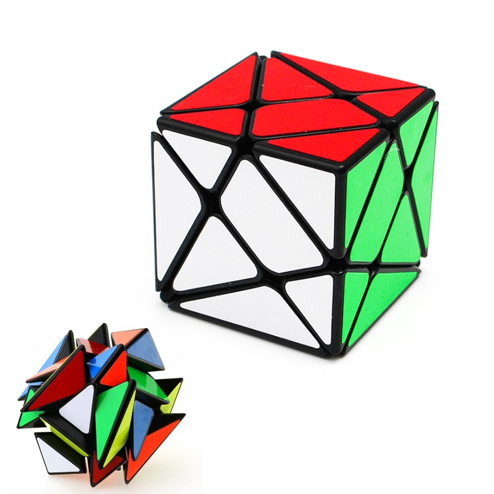 YongJun YJ Axis Magic Cube Change Irregularly Jinggang Speed Cube with Frosted Sticker YJ 3x3x3 hot sale(China)