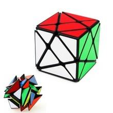 Yongjun yj 축 매직 큐브 변경 불규칙하게 jinggang 스피드 큐브 서리로 덥은 스티커 yj 3x3x3 뜨거운 판매