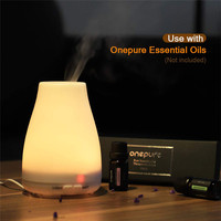 Aromatherapy Essential Oil Diffuse Portable Cool Mist Humidifier with 7 Colors LED Lights and Auto for Home Office Bedroom