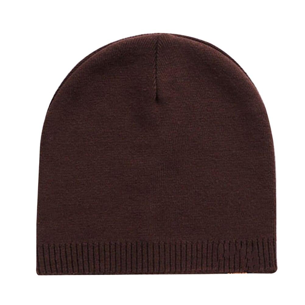 1 Pc Schöne Praktische Mode Durable Nützlich Winter Hut Winter Gestrickte Hut Gestrickte Hüte Outdoor Caps Männer Liefert