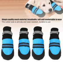 Модный Pet кроссовки для собак малых и средних собак большого размера собаки пеший туризм походы собака сапоги Водонепроницаемый Нескользящая альпинистская обувь для собак