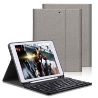 Keyboard Case For iPad 2018 9.7 With Pencil Holder For iPad Air 2 Air 1 Pro 9.7 2017 Pu Leather Magnetic Auto Sleep Smart Cover