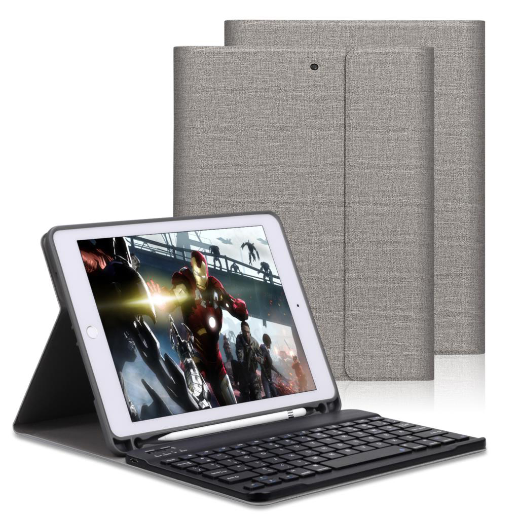 Keyboard Case For iPad 2018 9.7 With Pencil Holder For iPad Air 2 Air 1 Pro 9.7 2017 Pu Leather Magnetic Auto Sleep Smart CoverKeyboard Case For iPad 2018 9.7 With Pencil Holder For iPad Air 2 Air 1 Pro 9.7 2017 Pu Leather Magnetic Auto Sleep Smart Cover
