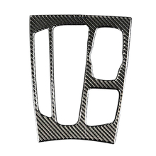 Control Gear Shifting Panel Trim In Automotive Carbon Fiber For BMW X5/X6/F15/F16 2014-2017