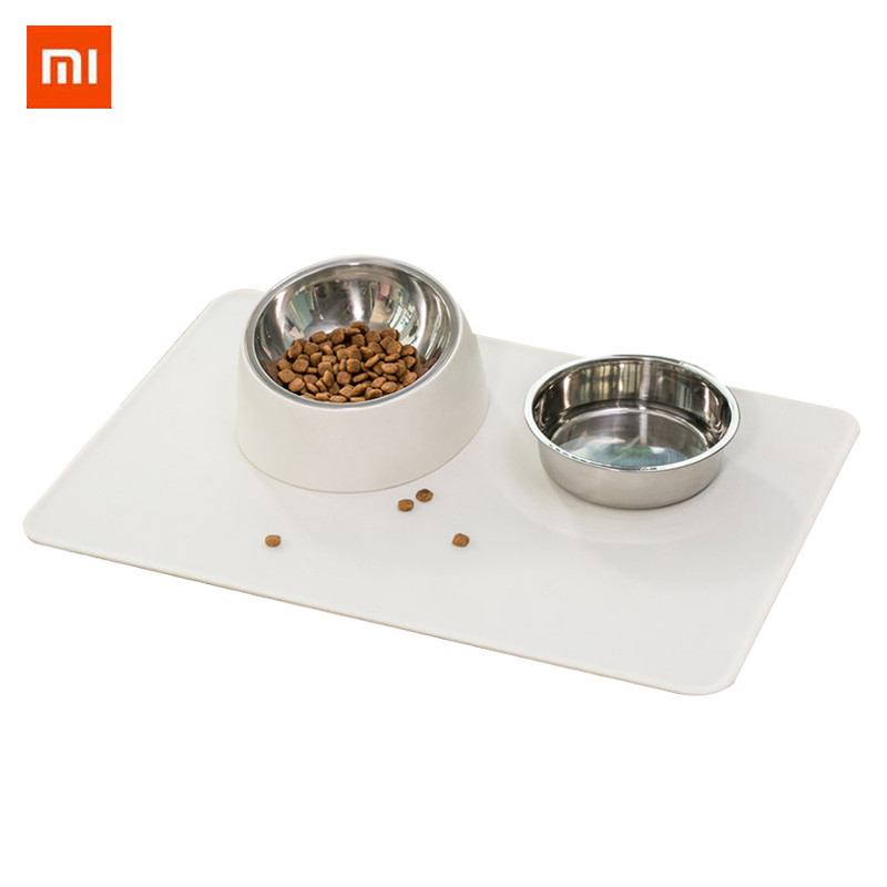 Home Appliances Pet Dog Puppy Cat Waterproof Feeding Mat Pad Silicone Dish Bowl Food Wipe Clean Drinking Feed Placemat From Xiaomi Youpin