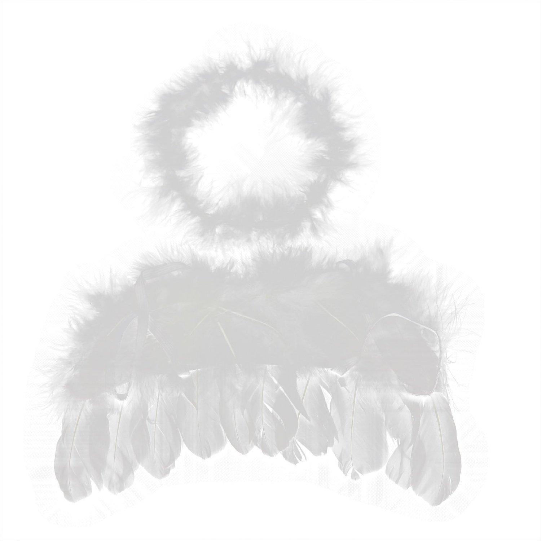 0-6 Mo Engel In Federn Baby Zubehör Amor Ohne Flügel Wärmestrahlenkranz