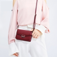 Single Shoulder Bag Fashion Multicolor Wild Messenger Korean Version Multi-Capacity Envelope Mobile Phone Small Wallet