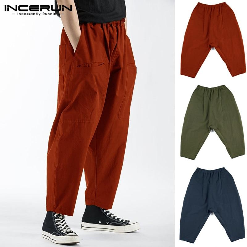 8174c1fd83a3c5 Red Gambe Uomini Hiphop Tuta Army In Della Mutanda Larghe Delle Casual  Elastico Green Baggy Donne Degli Pantaloni ...