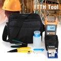 Kit de herramientas FTTH Visible Fault Locator fibra óptica medidor de energía Tester cuchilla alicates