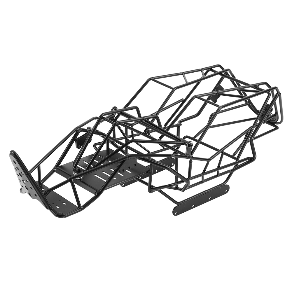 Black Metal Roll Cage Chassis Frame for Axial Wraith 90018 1 10 Scale RC Car Rigid