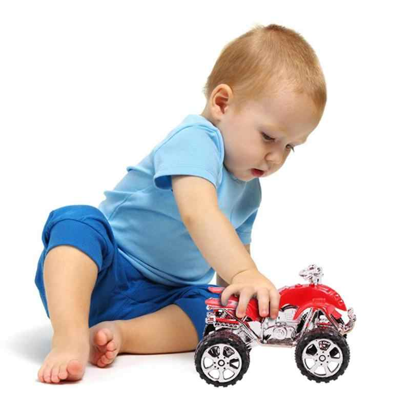 New Children Simulation Car Plastic Beach Motorcycle Toy Motor Model Toy Boy Kids Xmas Gifts Toy Car Vehicles Random Color