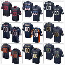 782bd389dce Custom Navy Mesh Football Jersey Design Online DIY Embroidered High School  College Team Logo Your Name