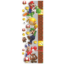140cm baby growth chart height stickers super funny Mario an