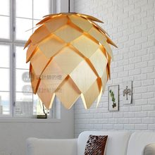 Nordic golden iron pendant lights for Living Room bedroom pendant lamps Wood retro Country Pastoral Cafe hanging light fixtures semi circular pendant lights pink countryside pastoral style ceramic rose bedroom stairs princess bedroom pendant lamps za