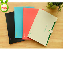 10 pcs 32*24cm Korean Stationery 8 Income expanding Folder A4 Data Mix PP File Accept Test Paper Classification Organ Package