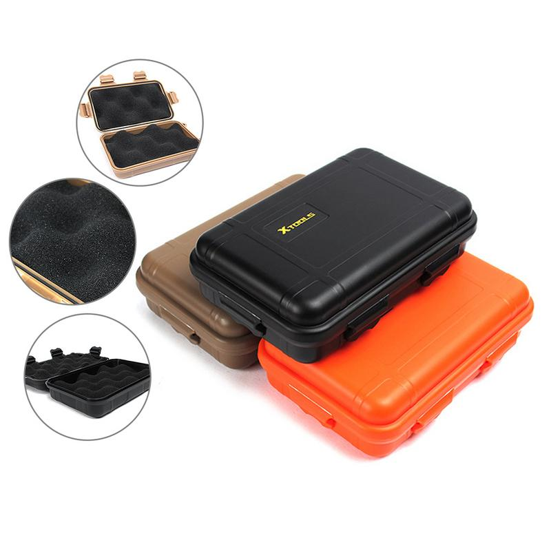 Shockproof Outdoor Waterproof Boxes Survival Airtight Case Holder For Storage Matches Small Tools EDC Travel Sealed Containers image