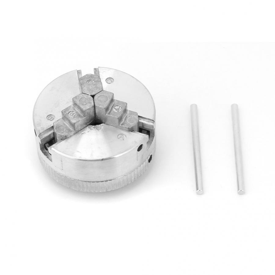 mini drill chuck Z011 Zinc Alloy 3 Jaw Chuck Clamp Accessory for Mini Metal Lathe milling collet chuck-in Chuck from Tools