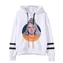 2019 spring Billie Eilish hoodie Print Hooded Women Men sweatshirt Clothes Harajuku Casual Hot Sale Hoodies Kpop sweatshirts(China)