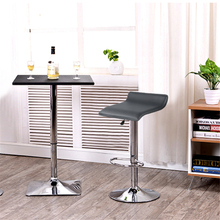2PCS Vogue Leisure Bar Chair Swivel Rotating Bar Stool Gas L