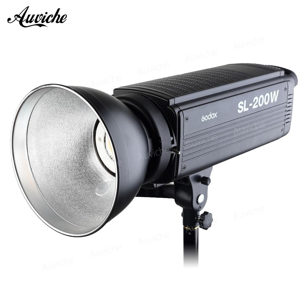 Godox SL-200W 5600 k Studio LED Vidéo Lumière Remplir lumière Photo LED Lumière Bowens Mont Blanc lumière Version pour Studio vidéo