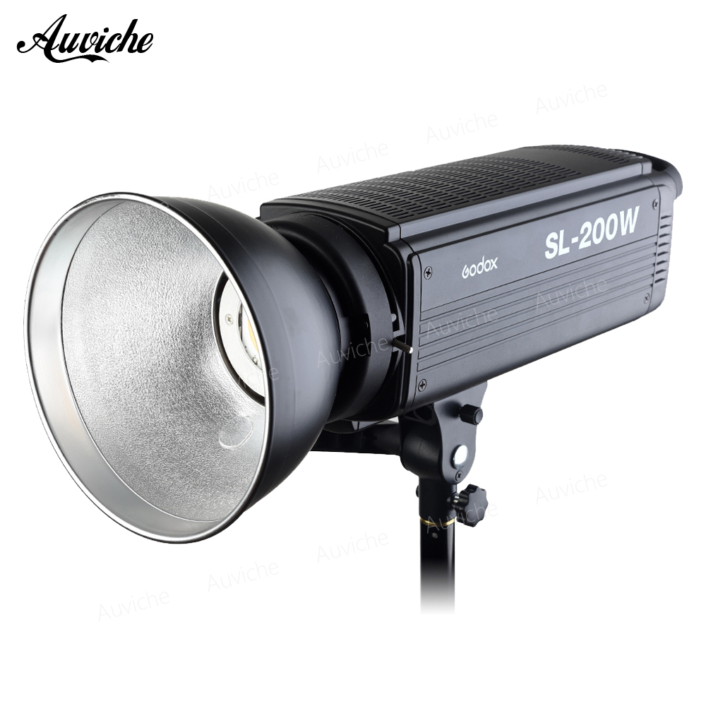 Godox SL-200W 5600K Studio LED Video Light Fill light Photo LED Light Bowens Mount White light Version for Studio Video цена