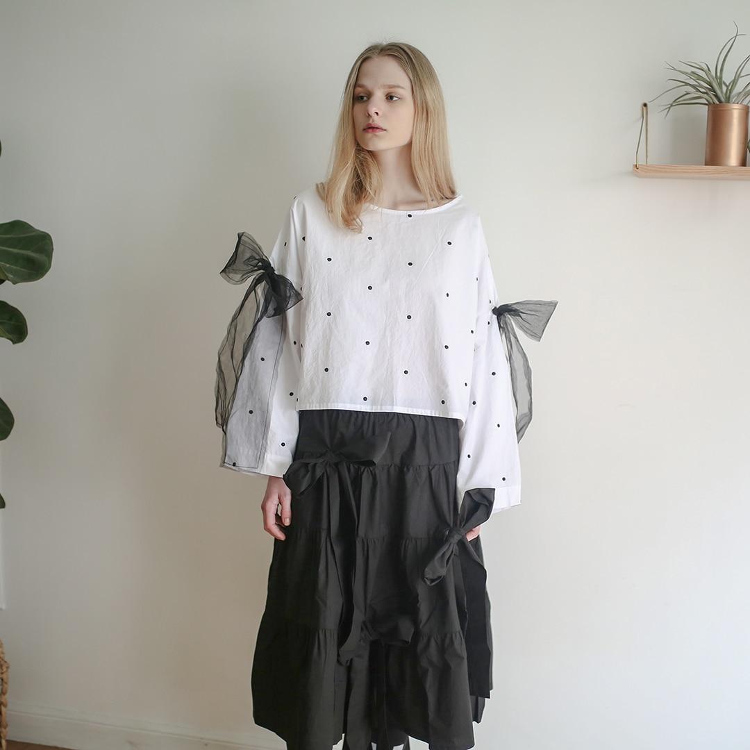 Wc436 Arc Plissée Automne Jupe Vêtements Mode Noir Femmes Nouvelle corps Witner Original Et 2018 Black De Longue Japonais Qlzw Demi 4A35qjRL