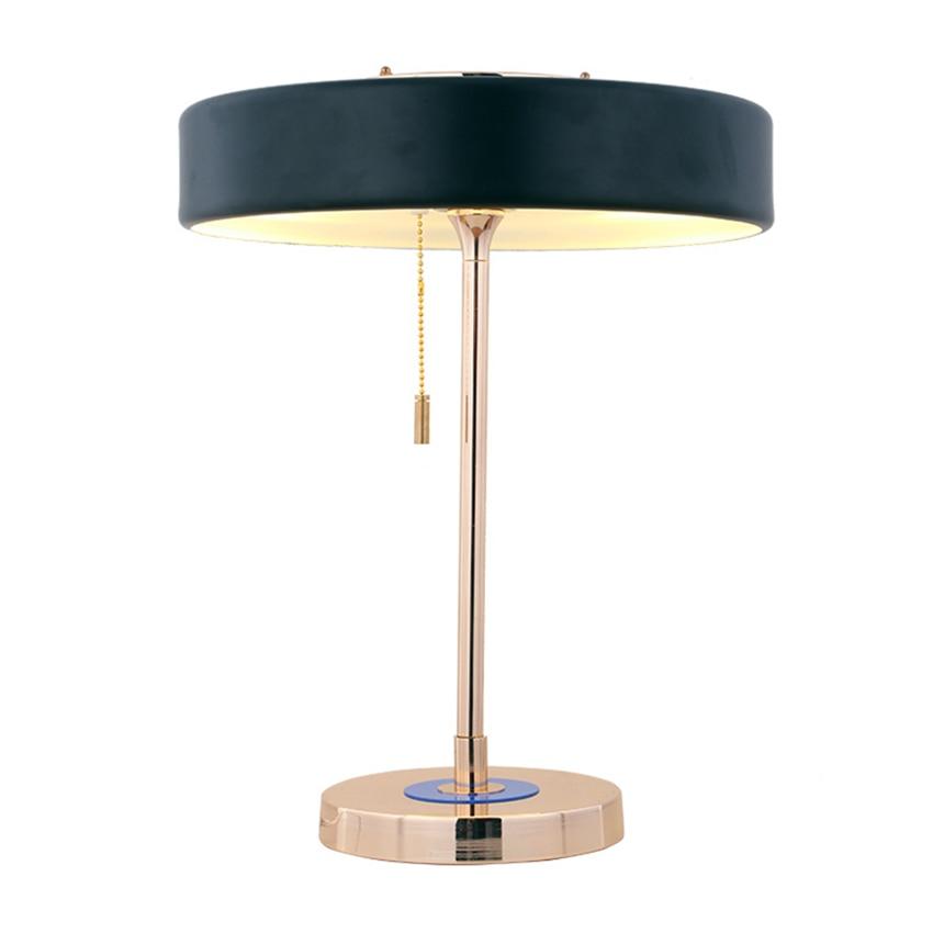 Modern Glass Table Lamps Bedroom Bedside LED LOFT Indoor Home Lighting Desk Lamp Study Desk Wrought Iron Table Lights Decoration in LED Table Lamps from Lights Lighting