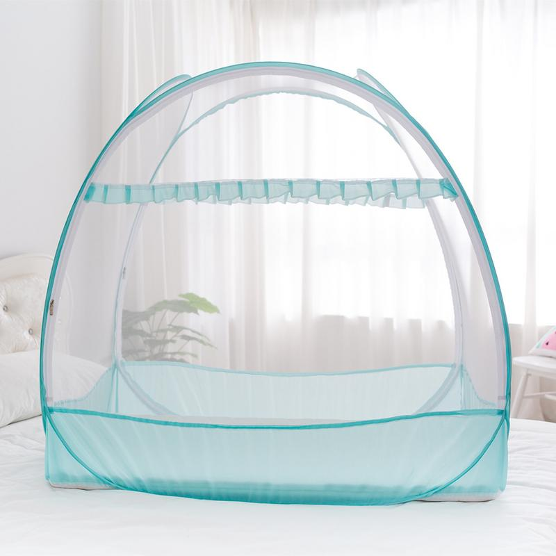 4 Size Baby Crib Net Pop Up Tent Folding Mosquito Net Blue Pink Baby Bed Canopy Portable Folding Crib Netting Tent 4 Size Baby Crib Net Pop Up Tent Folding Mosquito Net Blue Pink Baby Bed Canopy Portable Folding Crib Netting Tent