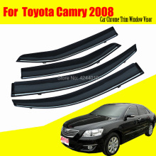 цена на Car Sun Visor Window Visor Rain Shade for Car Window Plastic Visor Accessories For Toyota Camry 2008