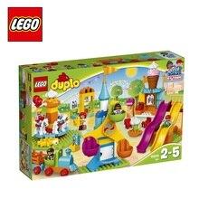 Конструктор LEGO DUPLO Town 10840 «Большой парк аттракционов»