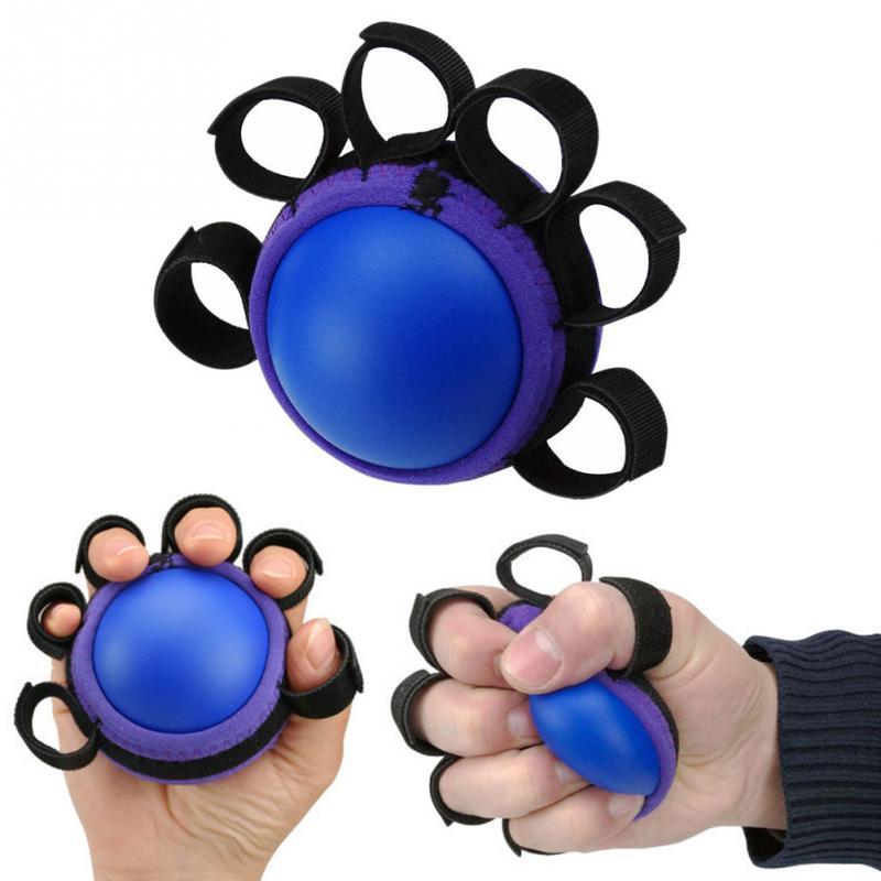 3pcs Restore Strengthen Hand Wrist Finger Therapy Exerciser Grip Ball New