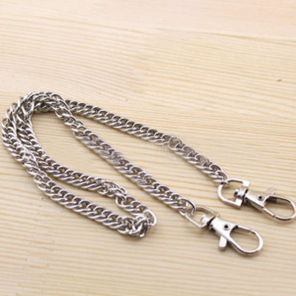120cm Metal Chain For Shoulder Bags Handbag Buckle Handle DIY Belt For Bag Strap Accessories Hardware Iron Chain