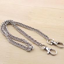 120cm Metal Chain For Shoulder Bags Handbag Buckle Handle DIY Belt For Bag Strap Accessories Hardware Iron Chain