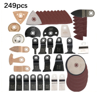 249 pcs/Set Oscillating Multi function Tool For renovator power tools accessory